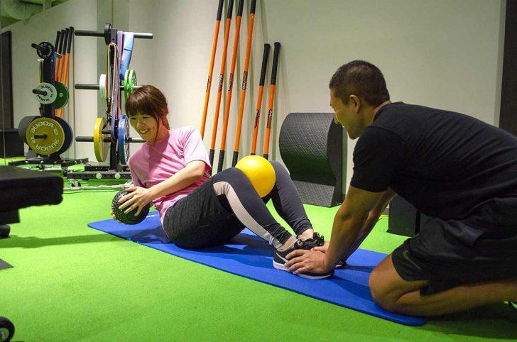 レグボディ 腹筋トレーニング